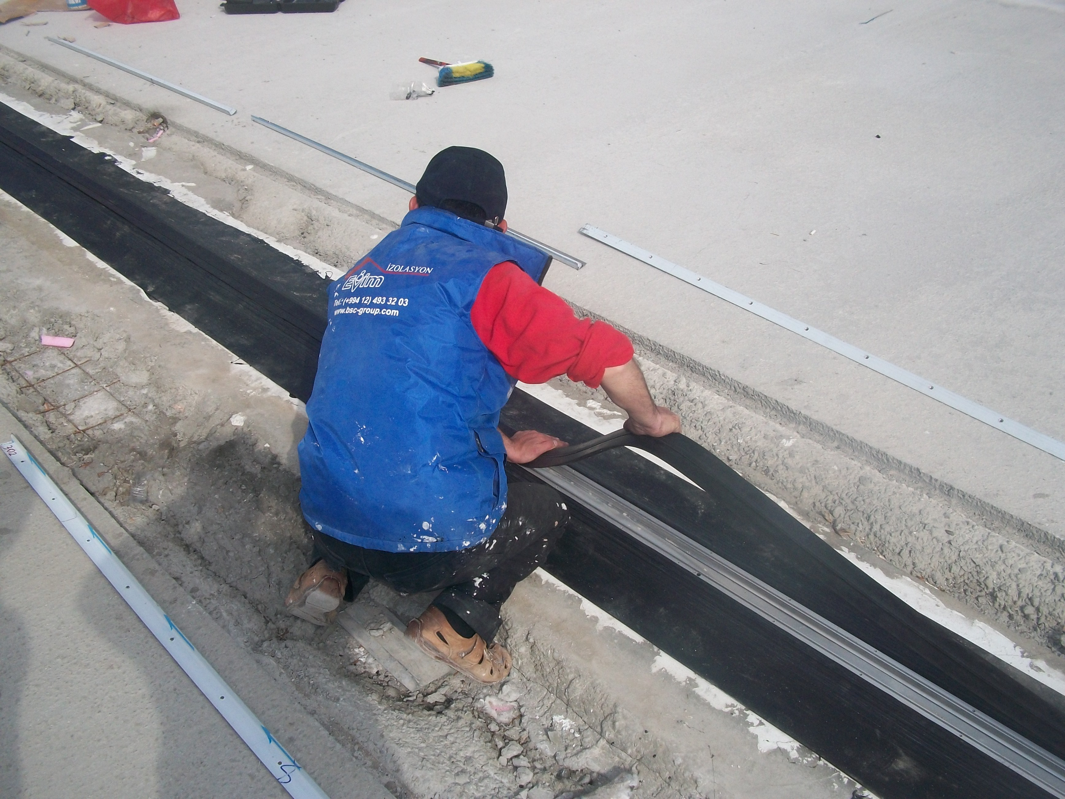 Evim isolation construction for Isolation construction